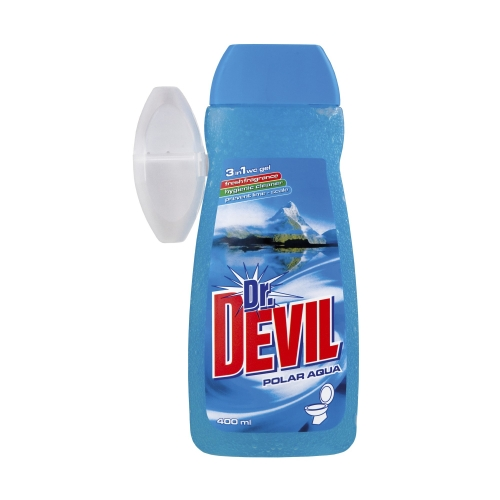 ŻEL DO WC DR. DEVIL 400ML + KOSZYK AQUA POLAR