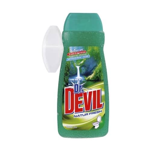 ŻEL DO WC DR. DEVIL 400ML + KOSZYK NATUR FRESH
