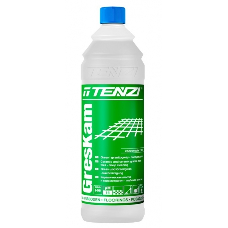 PŁYN DO PODŁÓG GRES KAM 1L KONCENT. Koncentrat do czyszczenia gresów TENZI - I-06/001