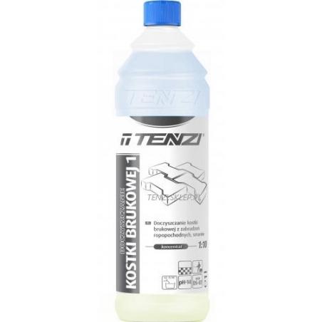 PŁYN DO KOSTKI BRUK.1 1L Płyn do czyszczenia kostki brukowej TENZI - DS-07/001
