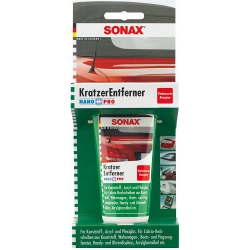 PASTA DO PLAST. SONAX 75ML PASTA DO PLASTIKÓW SONAX 75 ML