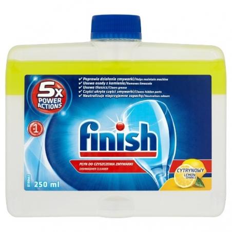 PŁYN DO ZMYW. FINISH 250ML LEMON Płyn do zmywarek Finish 250ml lemon