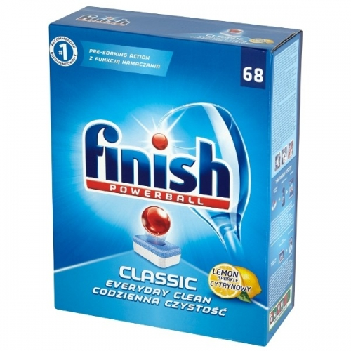 TABLETKI DO ZMYW. FINISH 68SZT CLASSIC LEMON TABLETKI DO ZMYW. FINISH...