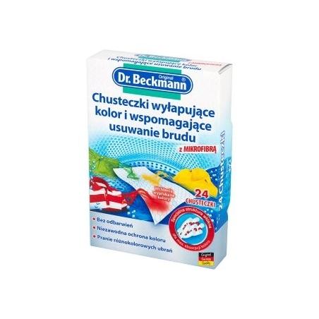 Chusteczki wyłapujące kolor Dr. Beckmann Chusteczki wyłapujące kolor Dr. Beckmann