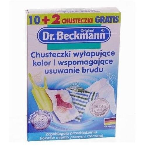 CHUSTECZKI WYŁAP. KOLOR DR.BECKMANN 10+2SZT. CHUSTECZKI WYŁAP. KOLOR...