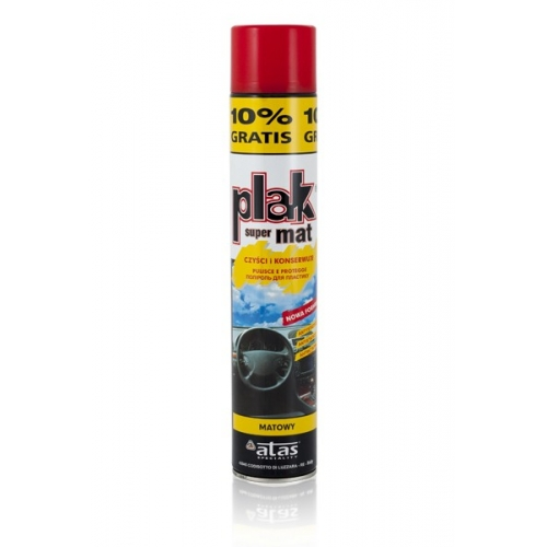 SPRAY DO PLAST. PLAK 600ML MAT SPRAY DO PLASTIKÓW PLAK 600...