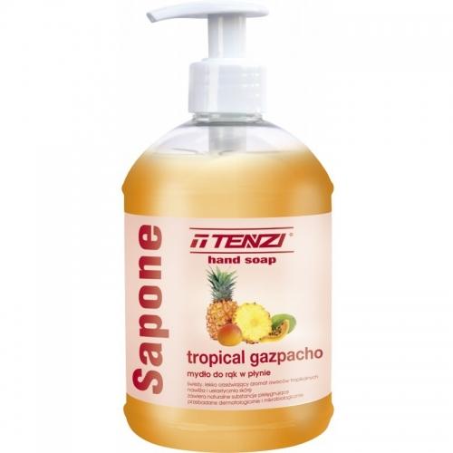 MYDŁO W PŁYNIE SAPONE TROPICAL GAZPACHO 0.5L Delikatne mydło w płynie...