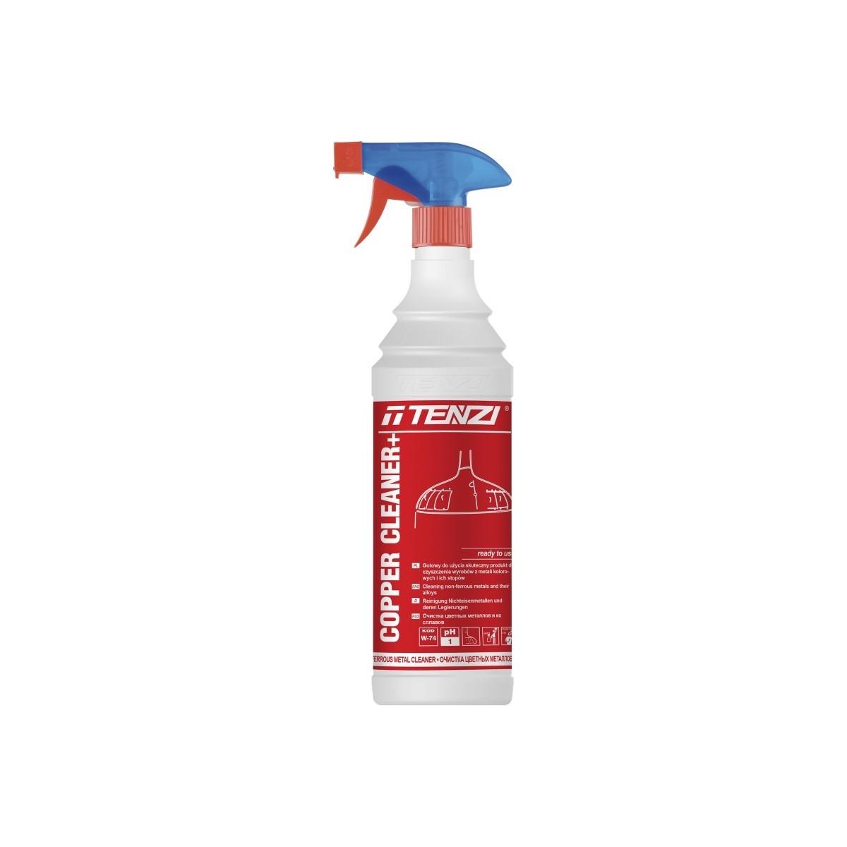 PŁYN DO CZYSZCZ. COPPER CLEANER 0.6L ROZP. Preparat do czyszczenia miedzi TENZI - W-74/600