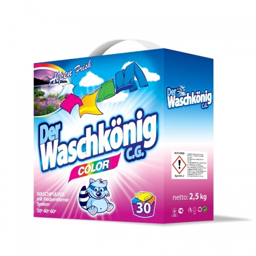 Proszek do prania kolor 2,5 kg WASCHKONIG Proszek do prania kolor 2,5...