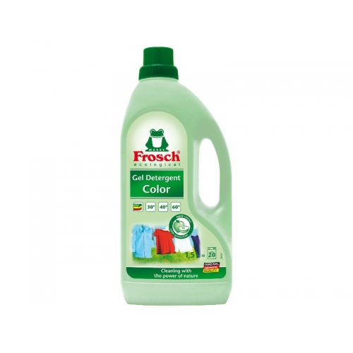 ŻEL DO PRANIA FROSCH 1.5L KOLOR ŻEL DO PRANIA FROSCH 1.5L...