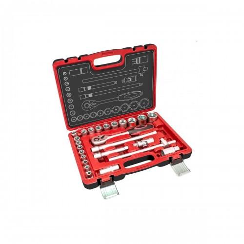 Klucze nasadowe DEDRA - 17K025 Klucze nasadowe DEDRA - 17K025