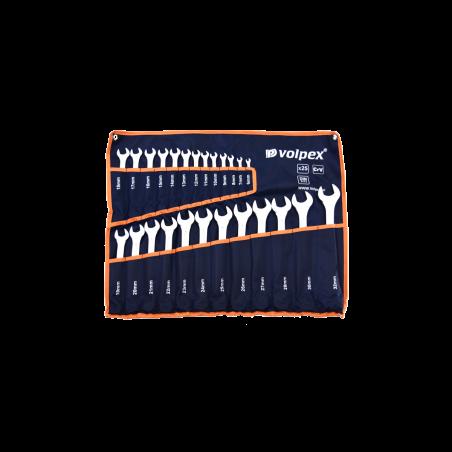 Klucze płasko - oczkowe 6 - 32 mm VOLPEX