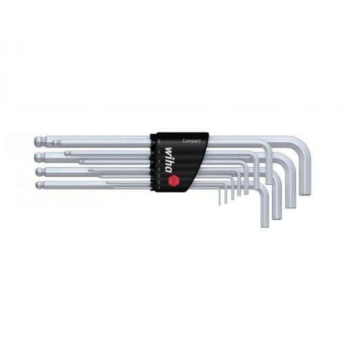 Zestaw kluczy trzpieniowych w uchwycie Compact Wiha - 36454 Zestaw kluczy trzpieniowych...