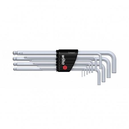 Zestaw kluczy trzpieniowych w uchwycie Compact Wiha - 36454 Zestaw kluczy trzpieniowych w uchwycie Compact Wiha - 36454