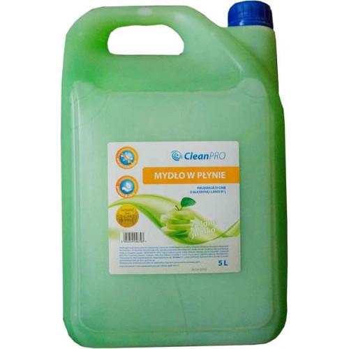 Mydło antybakteryjne zielone 5L, CleanPRO Mydło antybakteryjne...