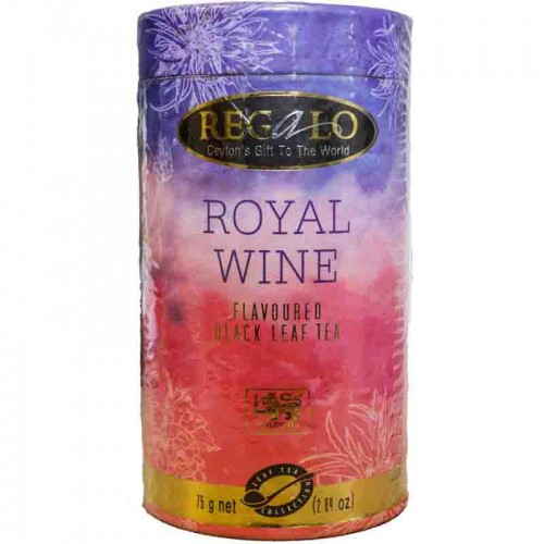 Herbata Black Royal Wine 75g Regalo Herbata Black Royal Wine...