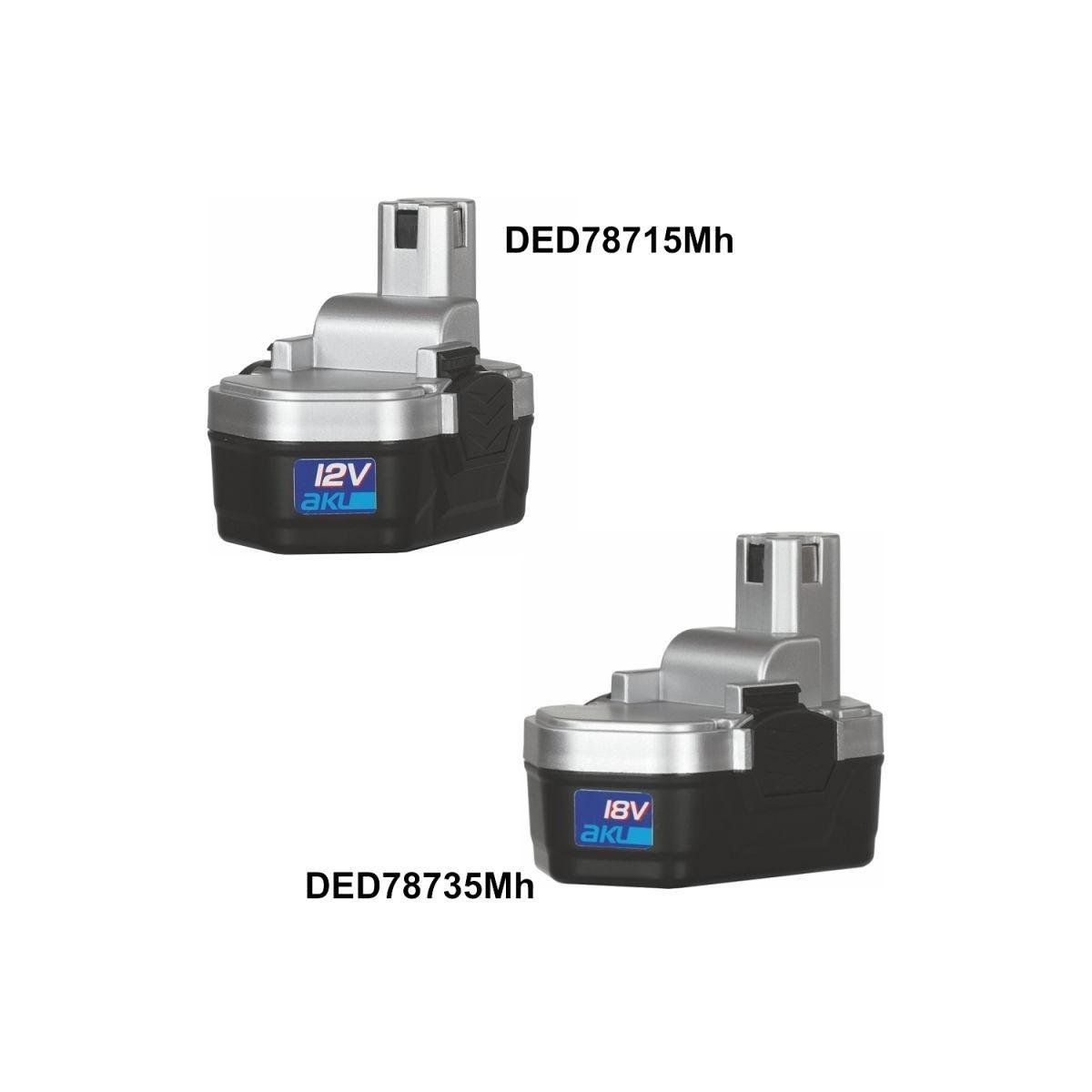 Akumulator 1,2 Ah DEDRA - DED78735MH Akumulator 1,2 Ah DEDRA - DED78735MH