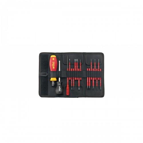 Wkrętak dynamometryczny zestaw TorqueVario®-S electric Wiha - 40674 Wkrętak dynamometryczny...