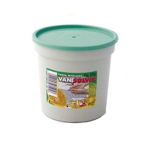 Pasta mydlana do mycia rąk 500 g - Van Solvik Pasta mydlana do mycia rąk...