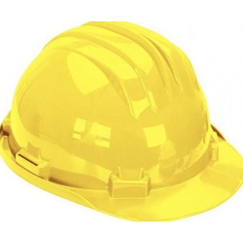 Kask ochronny żółty 5 RS-Y z podbródkiem - CLIMAX Kask ochronny żółty 5 RS-Y...