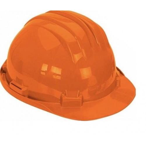 Kask ochronny pomarańczowy 5 RS-Y z podbródkiem - CLIMAX Kask ochronny pomarańczowy...