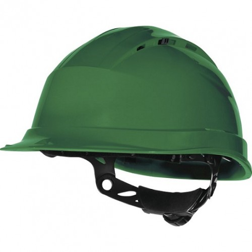 Kask ochronny zielony QUARTZ UP 4 - DELTA PLUS Kask ochronny zielony...
