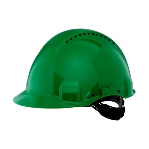 Kask ochronny zielony Solaris - G3000CUV-GP Kask ochronny zielony...