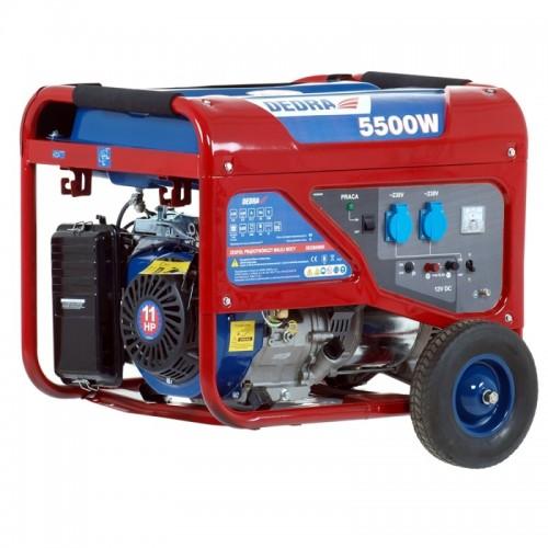 Agregat 5,0 - 5,5 kW DEDRA - DEGB6500K Agregat 5,0 - 5,5 kW DEDRA...