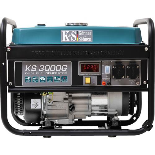 Agregat 2,6 - 3,0 kW Könner & Söhnen - KS 3000 G Agregat 2,6 - 3,0 kW Könner...
