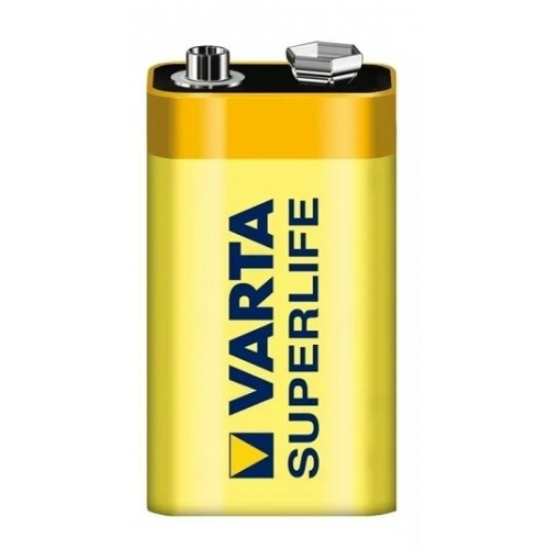 Bateria 9 V 6F22 VARTA - 2022 Bateria 9 V 6F22 VARTA - 2022