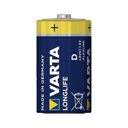 Bateria 1,5 V LONGLIFE D VARTA - 4120 Bateria 1,5 V LONGLIFE D...