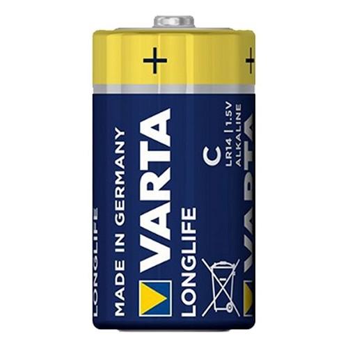 Bateria 1,5 V LONGLIFE C VARTA - 4114 Bateria 1,5 V LONGLIFE C...