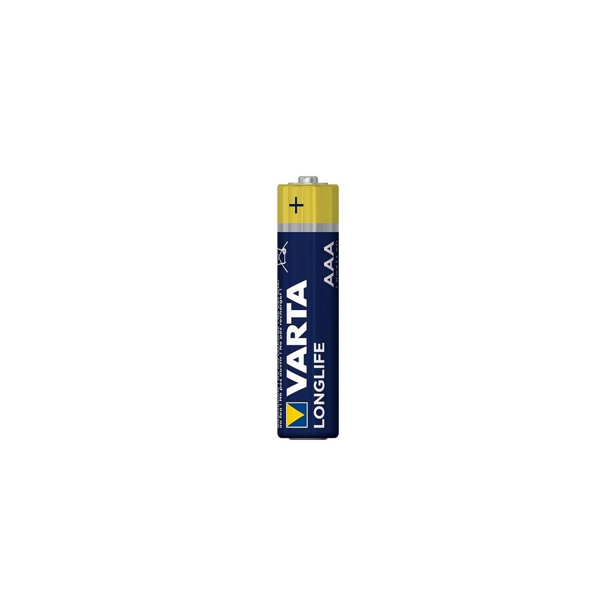 Bateria 1,5 V LONGLIFE AAA VARTA - 4103 Bateria 1,5 V LONGLIFE AAA VARTA - 4103
