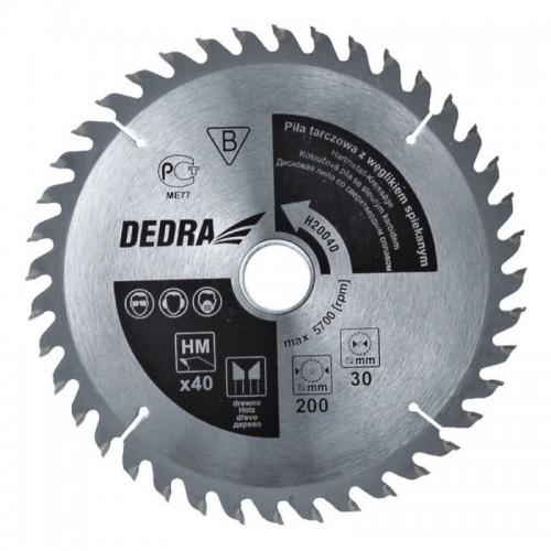 Piła 24T, 185 x 20 mm DEDRA - H18524 Piła 24T, 185 x 20 mm DEDRA...