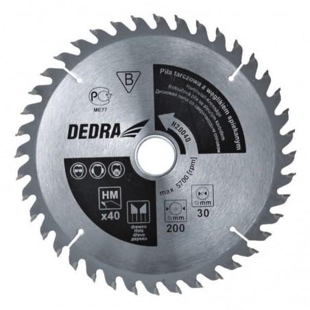 Piła 60T, 450 x 30 mm DEDRA - H45060 Piła 60T, 450 x 30 mm DEDRA - H45060