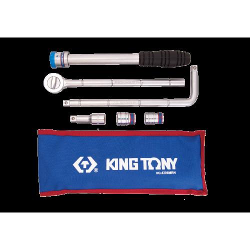 """Zestaw narzędzi 1/2"""" KING TONY - 4306MRN Zestaw narzędzi 1/2"""" KING..."""
