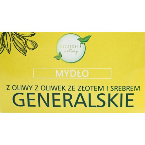 Mydło Generalskie ze złotem i srebrem - 100 g Mydło Generalskie ze złotem...