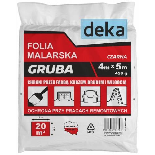 Folia 4 x 5 m Deka - D-300-0205 Folia 4 x 5 m Deka -...