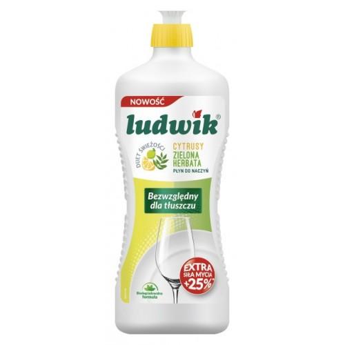 Płyn Ludwik 900 ml - cytrusy, zielona herbata. Płyn Ludwik 900 ml -...