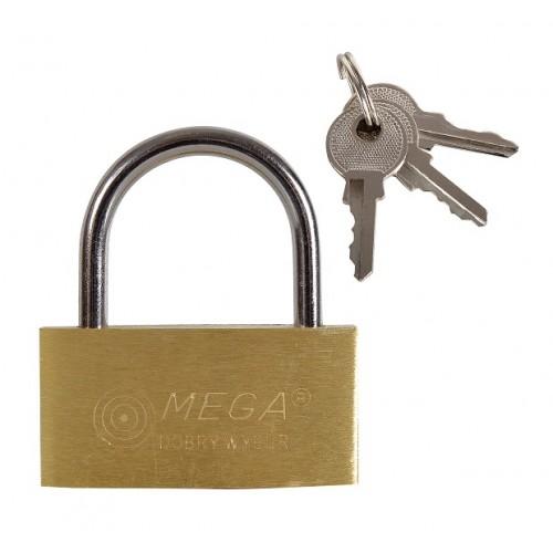 Kłódka 40 mm Mega - 24040 Kłódka 40 mm Mega - 24040