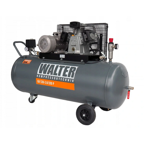 Kompresor 3,0 kW WALTER - GK 530-3.0/200P Kompresor 3,0 kW WALTER -...