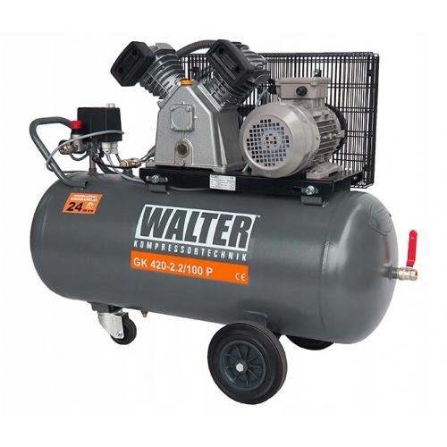 Kompresor 2,2 kW WALTER - GK 420-2,2/100 P Kompresor 2,2 kW WALTER -...
