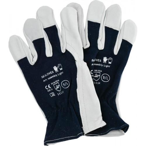Rękawice rozm. 9, Assembly Light Winter - SG GLOVES Rękawice rozm. 9, Assembly...