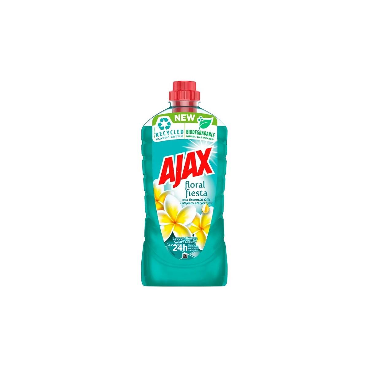Płyn do mycia 1000 ml, AJAX floral fiesta - Kwiaty Laguny Płyn do mycia 1000 ml, AJAX floral fiesta - Kwiaty Laguny