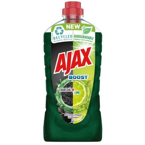 Płyn do mycia 1000 ml, AJAX CHARCOAL + LIME - Aktywny węgiel i limonka Płyn do mycia 1000 ml, AJAX...