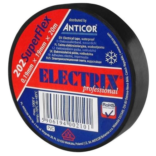 Taśma izolacyjna 19 mm - ELECTRIX ANTICOR Taśma izolacyjna 19 mm -...