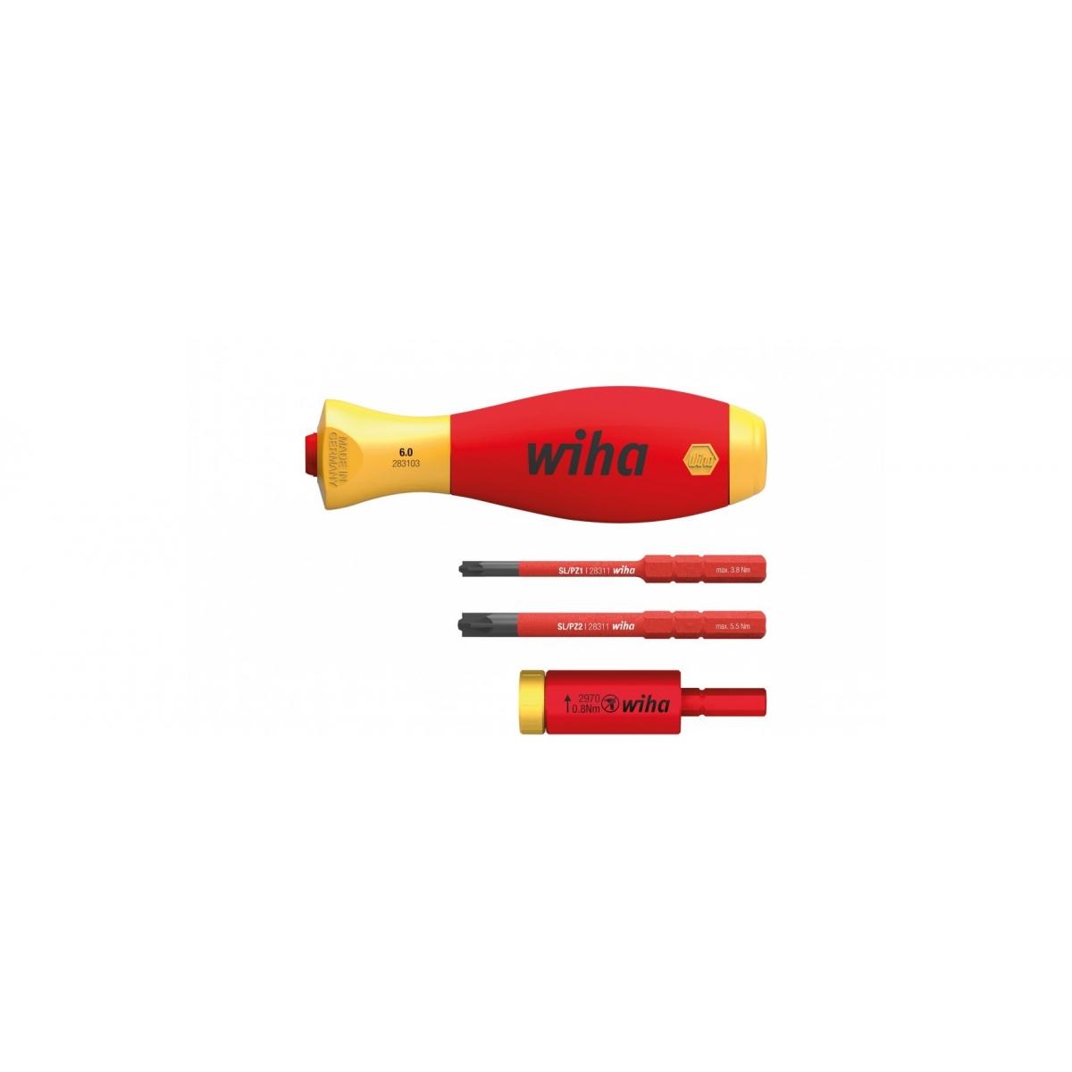 Zestaw adapterów dynamometrycznych easyTorque electric 29701 080 S4 Zestaw adapterów dynamometrycznych easyTorque electric 29701 080 S4