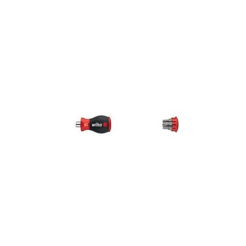 Magnetyczny wkrętak z magazynkiem bitów Wiha - 33744 Magnetyczny wkrętak z...