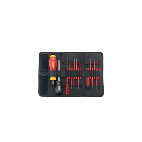 Wkrętak dynamometryczny zestaw TorqueVario®-S electric 2872 T18 Wkrętak dynamometryczny zestaw TorqueVario®-S electric Wiha - 36791