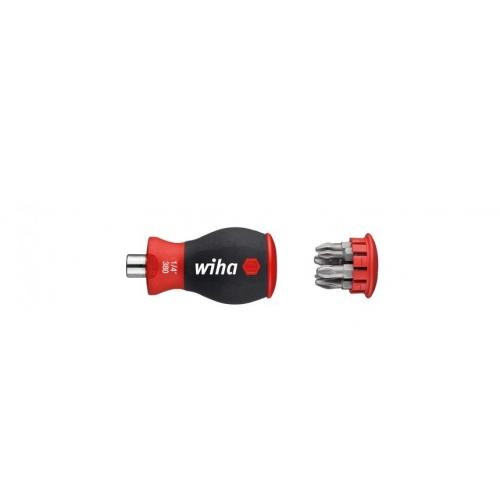 Magnetyczny wkrętak z magazynkiem bitów Wiha - 33740 Magnetyczny wkrętak z...